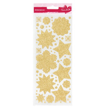 GLITTERATIONS FILIGREE GOLD 14161773 - SNOWFLAKE Peel-Style stickers
