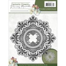 Precious Marieke Fantastic Flowers - Round Flowers Frame - Metal Die PM10091