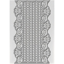 Ultimate Crafta Magnolia Lane 5x7 Lace Embossing Folder