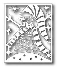 Tutti Designs Snowman Panel Cutting Die TUTTI-364 Christmas