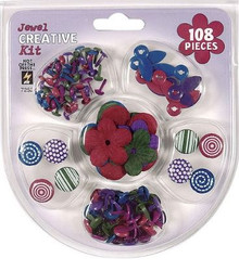 102pc Cardmaker's Creative Kit Jewel Tones 7252