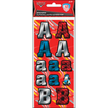 Sandylion Letters And Numbers Stickers-Disney Cars 1' Letters