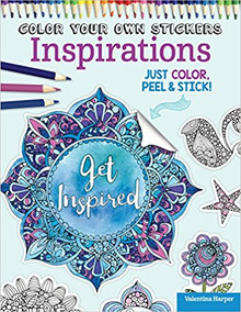 Design Originals Color Your Own Stickers Inspirations: Just Color, Peel & Stick