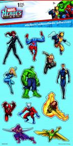 Sandylion Marvel Heroes Dimensional Stickers for Scrapbooking