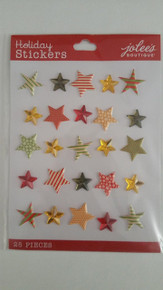 Jolee's Holiday Stars Repeat 3-D Sticker 50-30346