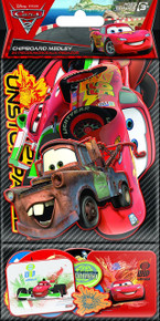 Sandylion Cars Chipboard Medley with Clear Varnish Sticker