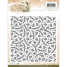 Precious Marieke The Nature of Christmas Embossing Folder PMEMB10011