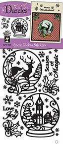 HOTP Dazzles Snow Globes Stickers HOTP2595
