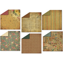 HOTP Double-sided Timeless Treasures Paper Pack 12x12 12-Coordinating Papers
