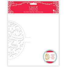 Papermania 12 Days of Christmas Pop-Up Cards, 8 by 8-Inch, 4-Pack