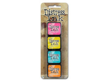 Tim Holtz Distress Mini Ink Kits-Kit #1