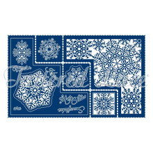 Tattered Lace Snowflake Shape Card Die Set - 15-Piece set - TLD0607