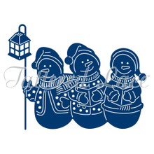 Tattered Lace Trio of Snowmen Die ETL166 Christmas Winter