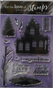 Hunkydory Crafts For the Love of Stamps --No Place Like Home FTLS265