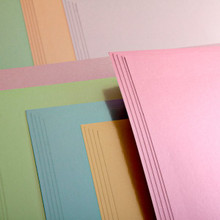 Satin Finishes Board 10 Colors 8.5x11