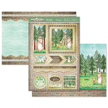 Hunkydory Foxy and Friends Topper Set Card Kit FOXY901
