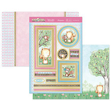 Hunkydory Foxy and Friends Nuts About you Topper Set Card Kit FOXY907