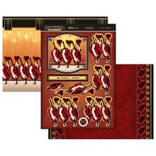 Hunkydory Deco Dreams ...It's Time to Celebrate Mirri Magic Topper Set Card Kit MDREAMS905