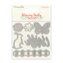 Dovecraft Blooming Lovely 6-die Set DCDIE079 Cutting Die Set