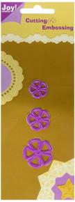 Joy! Crafts Die, 5 Petal Flowers