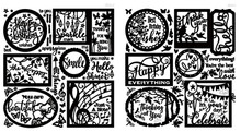 Hot Off The Press Fantastic Frames & Phrases Scrapbooking Dazzles Stickers