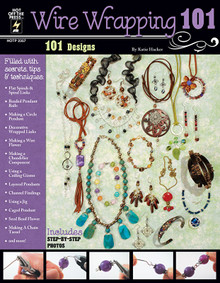 Wire Wrapping 101 Jewelry Beading Instruction Design Book - 2357