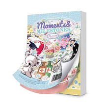 Hunkydory Little Book of Moments & Milestones - 144 pages approx 6x4-inches LBK197