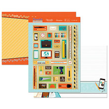 Hunkydory Moments & Milestones - It's a New Job! - Topper Set Card Kit MM920