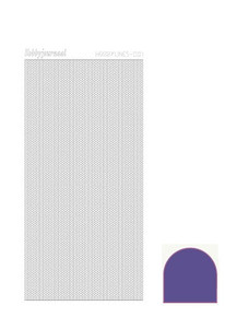 Find It Trading Hobby Lines Mini Pearl Lines -Mirror Violet HLM016