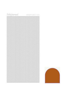 Find It Trading Hobby Lines Mini Pearl Lines -Mirror Brown HLM01G