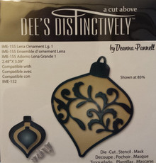 Dee's Distinctively Die Lena Ornament Lg. 1