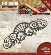Amy Design - Vintage Vehicles - TOOL BORDER - Metal Die ADD10096