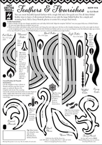 HOTP Template FEATHERS AND FLOURISHES 8.5X11 7419