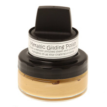 Cosmic Shimmer Metallic Gilding Polish - Hay Bale 50ML Jar