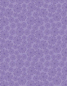 3pc Purple Daisies Shine Design Specialty Paper HOTP