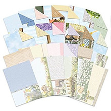 HUNKYDORY COUNTRY DAYS DECO-LARGE CARD KIT 4 CHOICES CARD MAKING NEW 2019