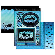Hunkydory Twilight Under the Sea - Enjoy the Ride Topper Set Card Kit TSEA902