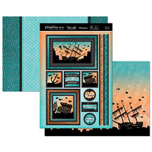 Hunkydory Twilight Under the Sea - YOU'RE A TREASURE Topper Set Card Kit TSEA908