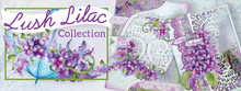 Heartfelt Creations Lush Lilac Full Collection: Paper Pad, 3x Die 3xstamps, mold