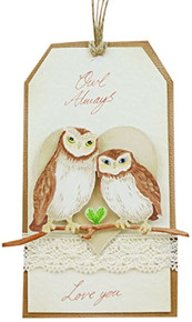 Tattered Lace Picture Show Owl Branch Cutting Die TLD0713