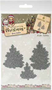 Find It Yvonne Creations Celebrating Christmas Die-Pine Trees