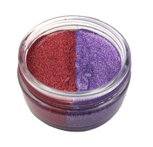 Cosmic Shimmer Glitter Kiss Duo - Velvet Crush