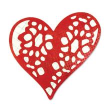 Sizzix Thinlits Die-Laced W/Love Doily