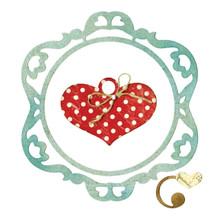 Sizzix Thinlits Dies 3/Pkg-Ornamental Love Frame