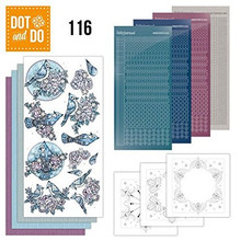 Dot and Do Nr. 116 Card Kit Winter HobbyDot Stickers, 3D Image & Layered Cards