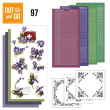 Hobbydots Dot and Do FLOWERS NR097 Card Set