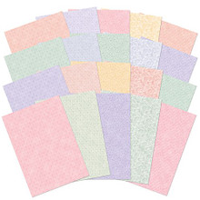 Hunkydory Adorable Scorable Floral Delights Card Block A4 Sheets 350gsm