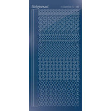 Find It Trading Hobbydots sticker - STYLE19 -Mirror - Blue