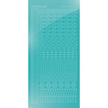Find It Trading Hobbydots sticker - STYLE18 -  Mirror - Emerald STDM18I