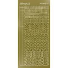 Find It Trading Hobbydots sticker - STYLE14 - Mirror- Gold